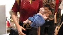 Leo, il bimbo di Chiara Ferragni e Fedez nel presepe napoletano