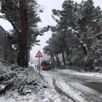 Neve a Potenza, ancora disagi
