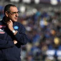 Napoli in pressing per il rinnovo di Sarri: De Laurentiis sta lavorando al progetto per la prossima stagione