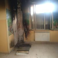 Benevento, incendio all'ospedale Rummo