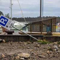 Potenza, mareggiata e danni a Maratea per il maltempo