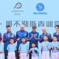Cina, il Napoli inaugura la sua