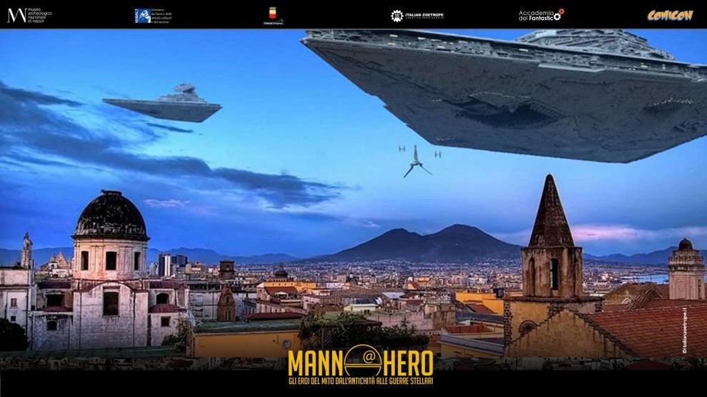 MannHero, l'universo Star Wars invade Napoli con una mostra all'Archeologico