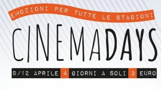 CinemaDays: proiezioni, spettacoli e anteprime al prezzo speciale di ...
