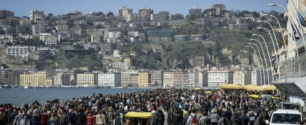 Napoli, il turismo è cresciuto oltre il 90 per cento: seconda nella classifica delle città d'arte