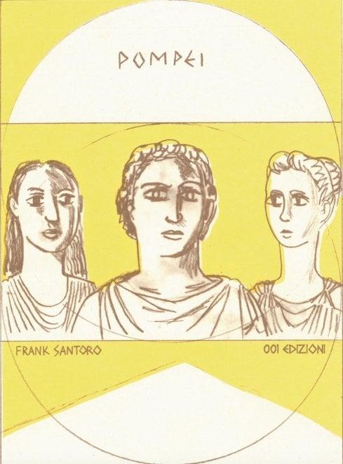 """""""Pompei"""": una graphic novel americana fa rivivere le storie delle vittime dell'eruzione del Vesuvio del 79 d.C."""