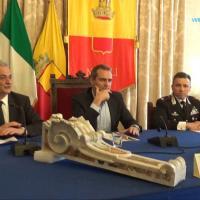 Carabinieri recuperano due pezzi dei decori settecenteschi del tempio della Scorziata
