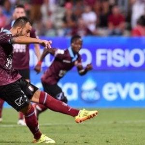 Calcio, Salernitana-Cesena 1-1