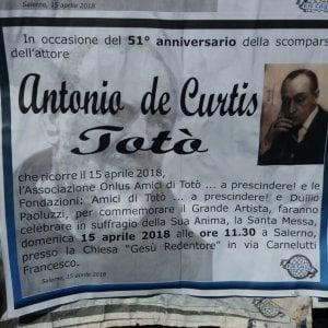 Salerno, una messa per commemorare Totò