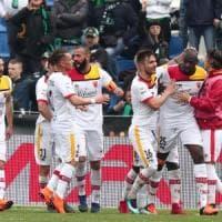 Il Benevento ferma il Sassuolo e conquista il primo punto in trasferta (2-2)