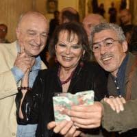 Claudia Cardinale festeggia i suoi ottant'anni al San Carlo