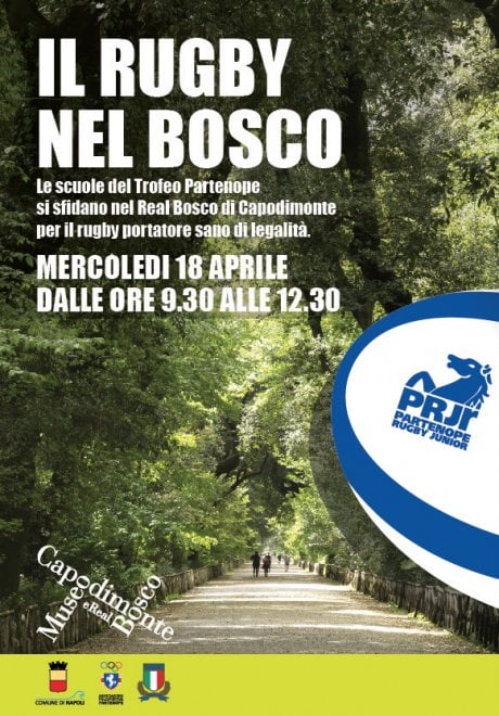 Inaugurazione della prima area rugby nel Real Bosco di Capodimonte