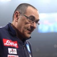 Sarri ci crede ancora, Il Napoli già in ritiro per il match con l'Udinese