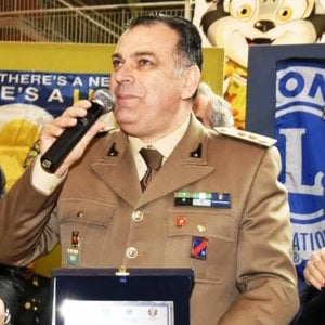 Camerota, il tenente colonnello dell'Esercito Antonio Grilletto cittadino onorario