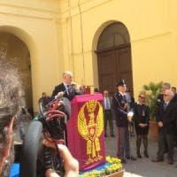 Il capo della polizia Franco Gabrielli a Napoli: