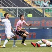 L'Avellino crolla a Palermo (3-0), la cura Foscarini è già finita
