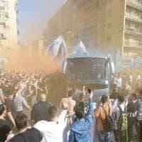 Sale la febbre per la partita scudetto, in 4000 mila danno la carica al Napoli