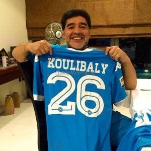 """La gioia di Maradona: """"Napoli, abbiamo un sogno nel cuore. Grazie Kalidou Koulibaly"""""""