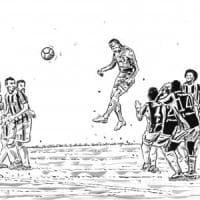 Koulibaly, balzo record di 2 metri e 48 centimetri allo Stadium: il gesto