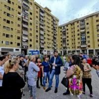 Protesta a Scampia, rischio sgombero in case del set di Gomorra