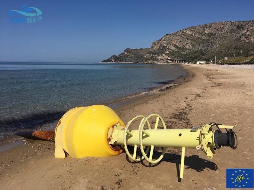 Risolto il caso della boa arenata a Sperlonga: arriva da Ischia
