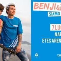 Benji e Fede il 7 luglio all'Arena Flegrea