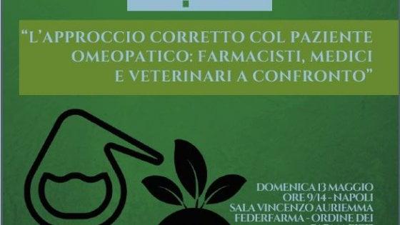 """Il convegno: """"L'approccio corretto col paziente omeopatico: farmacisti, medici e veterinari a confronto"""""""