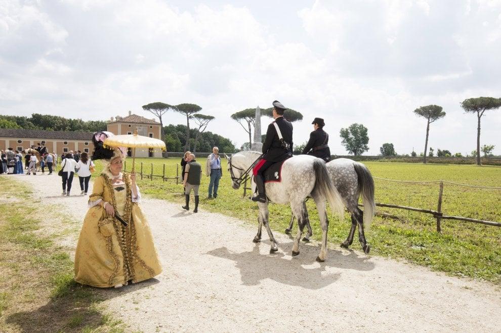 Carditello, accordo per un presidio dei carabinieri forestali e allevamenti equini