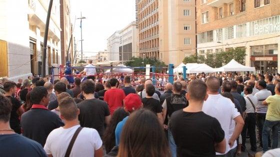 Boxe in piazza, appuntamento nei Quartieri Spagnoli