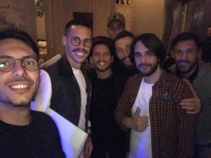 Napoli, giocatori a cena mercoledì sera in un ristorante di Pozzuoli