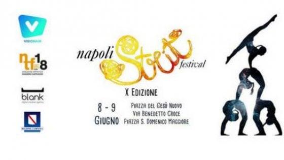 """Napoli """"Strit festival"""": oltre 50 artisti e animazione al centro storico"""