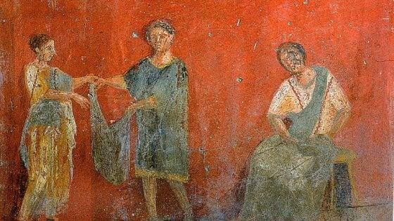 Viaggio tra le meraviglie del Mann: una mostra nel 2019 degli antichi tessuti romani rinvenuti a Pompei