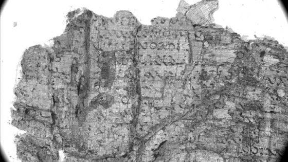 Biblioteca nazionale di Napoli, in un papiro di Ercolano l'opera storica perduta di Seneca padre