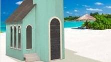 Napoli, ecco la Wedding Chapel: la chiesa smontabile per sposarsi in spiaggia