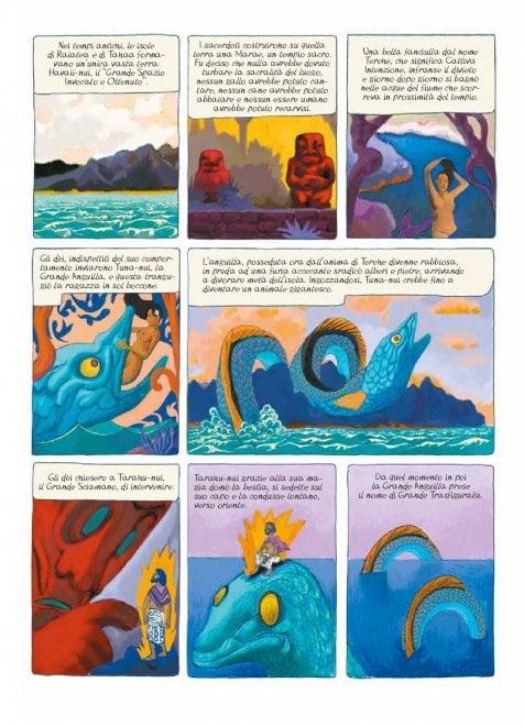 """Gauguin: una biografia """"emozionale"""" a fumetti"""