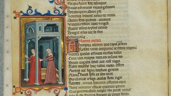 Napoli, biblioteca dei Girolamini: trovato manoscritto del '300 con le tragedie di Seneca