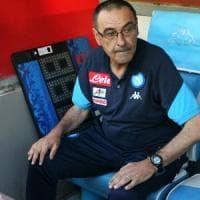 Inizia l'era Ancelotti, De Laurentiis saluta Sarri con un elogio: