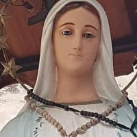 Castellammare, danneggiata la statua della Madonna in via Regina Margherita