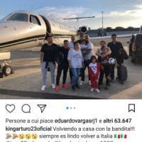 Effetto Ancelotti, c'è chi vede Vidal già a Capodichino ma lui è in Cile