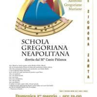 La Schola Gregoriana Neapolitana, concerto nel Monastero di Santa Chiara