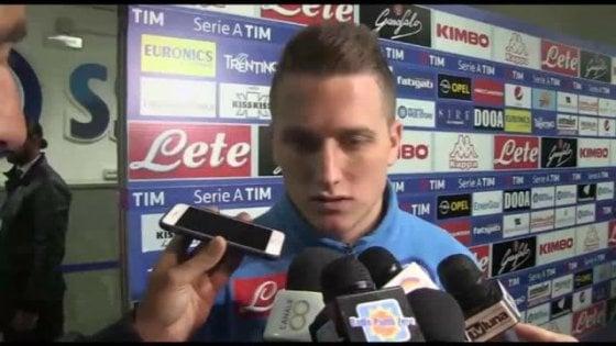 """Napoli, Zielinski soddisfatto per il nuovo corso: """"Ancelotti è un grande allenatore, ha vinto molto"""""""