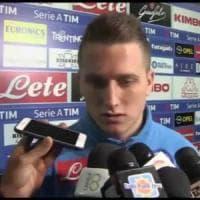 Napoli, Zielinski soddisfatto per il nuovo corso: