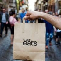 Uber sceglie Napoli per il lancio dell'App Food Delivery in Italia