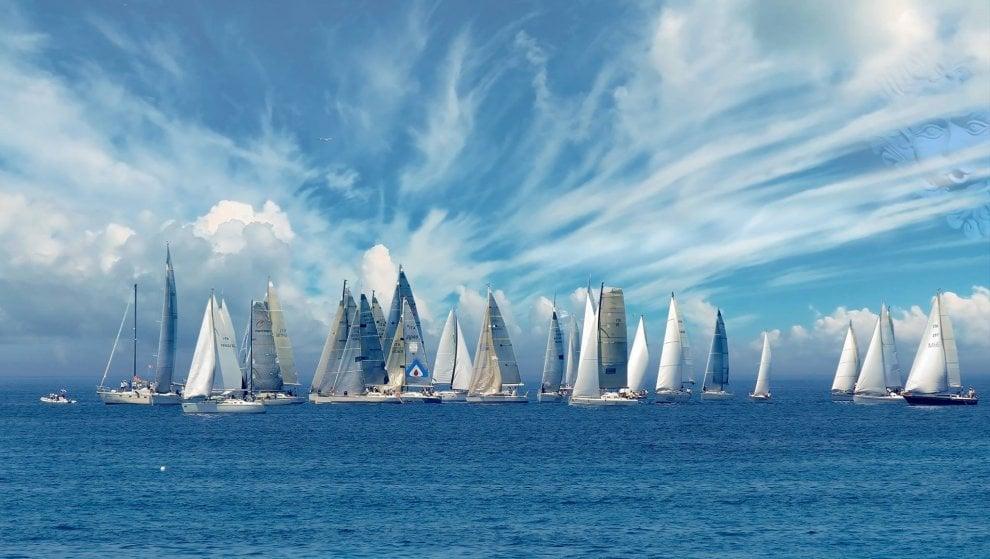 Scheria Cup, lo spettacolo della vela attorno all'isola d'Ischia