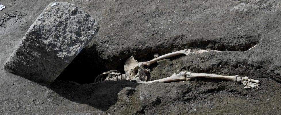 Scoperta a Pompei:  riemerge l'ultimo fuggiasco