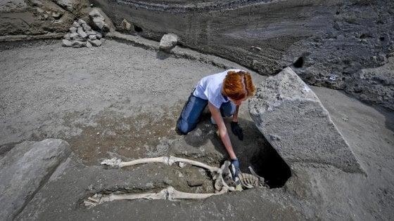 Pompei, il claudicante ucciso dall'eruzione