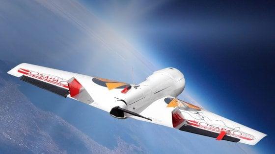 Un drone con un componente auto è partito dall'aeroclub Benevento per raggiungere la stratosfera a 36 mila metri di altezza
