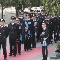 Napoli: celebrazione del 204° anniversario della fondazione dell'Arma dei Carabinieri
