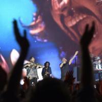 La grande notte di Pino Daniele al  San Paolo, volti ed emozioni
