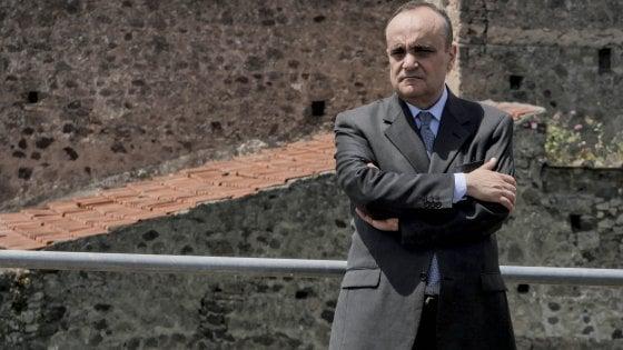 """Il neoministro dei Beni culturali Alberto Bonisoli in visita agli scavi: """"Pompei è una gemma del Paese"""""""